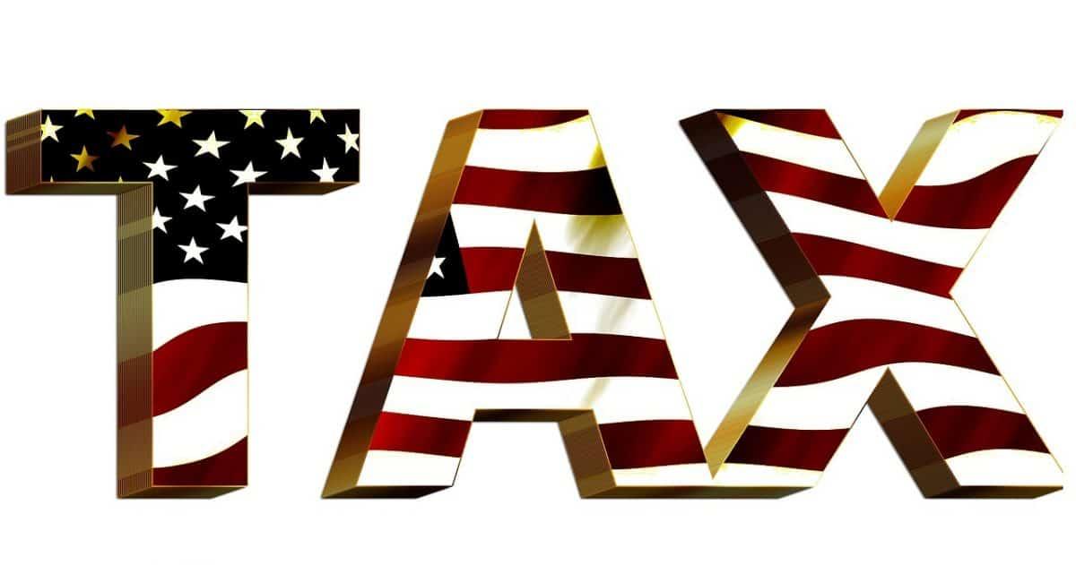 דגל ארהב במיסים